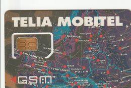 Sweden - Telia Mobitel - GSM SIM  - Mint - Zweden