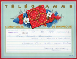 Télégramme: Grand Duché De Luxembourg =LX2= Nr. 333b - 1969 (003) - Télégraphes