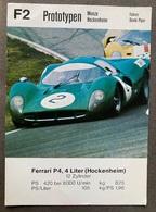 F2 Prototypen Monza/ Hockenheim Ferrari P4 - Grand Prix / F1
