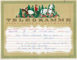 Télégramme: Grand Duché De Luxembourg =LX4= Nr. 333d - 1965 (001) - Télégraphes
