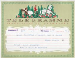 Télégramme: Grand Duché De Luxembourg =LX4= Nr. 333d - 1966 (002) - Télégraphes