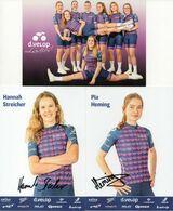 CYCLISME: CYCLISTE : EQUIPE FEMININE D.VELOP 2020 COMPLETE - Cyclisme