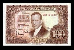 # # # Banknote Spanien (Spain) 100 Pesetas 1953 AU # # # - [ 3] 1936-1975 : Regime Di Franco