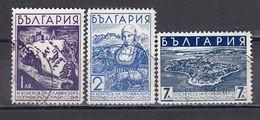 Bulgaria 1936 - 4e Congres Des Geographes Et Ethnographes Slaves, A Sofia, YT 287/89, Used - 1909-45 Reino