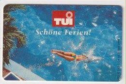 TK 26552 GERMANY - Chip O842C 04.93 TUI  10 000 Ex. MINT! - O-Series : Customers Sets