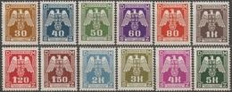 1/ Bohemia & Moravia; Service - ** Nr. SL 13-24 - Set - Unused Stamps