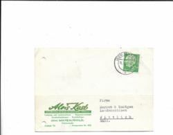 Karte Aus Mayen Nach Wittlich 1957 - BRD