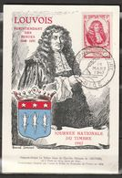 FRANCE   Journée Du Timbre 1947 Nice  Louvois    Carte Maximum   N° Y&T 779 - 1940-49