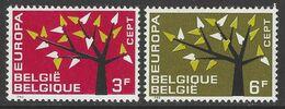 Belgique COB 1222 à 1223 ** (MNH) - Nuovi