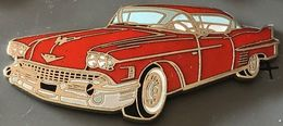 VOITURE US - RED US CAR - ROTES WAGEN - AUTOMOBILE - AUTO - CADILLAC ROUGE - EGF -       (26) - Sonstige