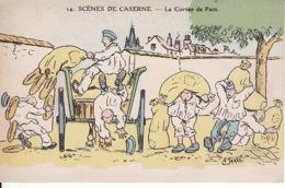 Pat. 69Scènes De Caserne. – La Corvée De Pain (AP Jarry 1912) - Humor