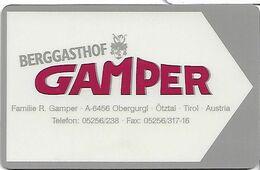 Berggasthof Gamper Tirol - Cartas De Hotels
