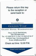 Golden Tulip Krasnapolsky 1 - Cartas De Hotels