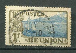 19227 REUNION N°69 ° 1F Gris-olive Et Bleu : Sainte-Rose Et Le Volcan   1907-17  B/TB - Réunion (1852-1975)