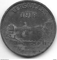 *   JETON 1918 GROUPES COMMERCIAUX DE VERSAILLES 5 Centimes !!!! - Altri
