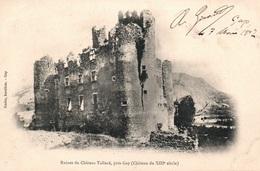 Ruines Du Château De Tallard Près De Gap (Hautes Alpes) Edition Gache, Buraliste - Carte Dos Simple - Altri Comuni