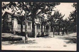 CARQUEIRANNE: Belle Vue éclairée Sur Les Ecoles. Carte écrite. TB - Carqueiranne