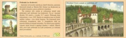 Booklet 1022 Czech Republic The Les Kralovstvi Dam 2019 - Acqua