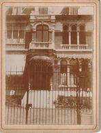 Photo Ancienne 110 Mm X 80 Mm Sur Carton - Juillet 1900 - Villa Avenue De L'Hippodrome Lambersart 59 (Nord) - Scan R/V - Places