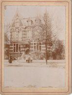 Photo Ancienne 105 Mm X 80 Mm Sur Carton - Juillet 1900 - Villa Avenue De L'Hippodrome Lambersart 59 (Nord) 2 - Scan R/V - Places