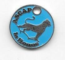 Jeton  De  Caddie  Argenté  Sport  A S C A P  La  Lionne ( Association  Sportive  Culturelle  Automobiles  Peugeot ) - Jetons De Caddies
