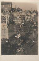 CARTE PHOTO:À SITUER CIMETIÈRE MILITAIRE TOMBE TIRAILLEURS ALGÉRIENS ET AUTRES ANNÉE 1915 - Cartoline