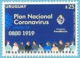 Uruguay 2020 ** Plan Nacional Coronavirus. Medicina. Pandemia, Virus. Enfermedades. - Enfermedades