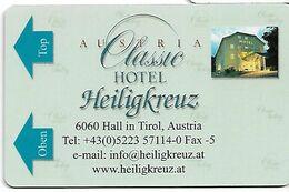 Hotel Heiligkreuz - Cartas De Hotels