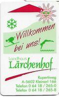 Landhaus Larchenhof - Cartas De Hotels