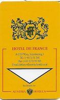 Hotel De France - Cartas De Hotels