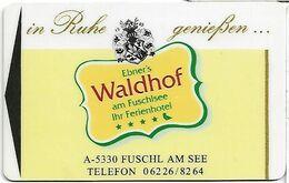 Hotel Waldorf - Cartas De Hotels
