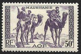 MAURITANIE  1938 -  YT  83 - Méharistes  -  NEUF* - Unused Stamps