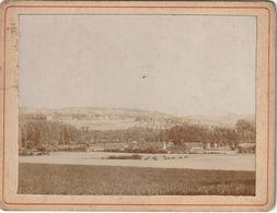 Photo Ancienne 105 Mm X 80 Mm Sur Carton - 1904 - La Vallée De La Vague - Vue De Montmirail 51 (Marne)  - Scan R/V - Places