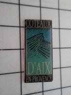 713M Pin's Pins / Beau Et Rare / THEME : BOISSONS / VIN ROSE COTEAUX D'AIX EN PROVENCE - Boissons