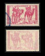 MAURITANIE  1939 -  Variété  YT  105 Recto Verso - Unused Stamps
