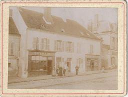Rare Photo Ancienne 105 Mm X 80 Mm Sur Carton - 1903 - Commerce Magasin Quantin à Montmirail 51 (Marne)  - Scan R/V - Places