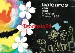 Baleares. DIa Del Turista. Año 1964. - España