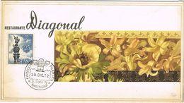 37382. Tarjeta Menu BARCELONA 1972. JUVENIA 72. Restaurante Diagonal - 1931-Aujourd'hui: II. République - ....Juan Carlos I