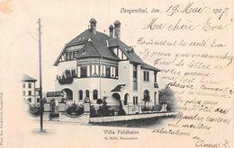 Langenthal Villa Feldheim G. Rikli Baumeister - BE Berne