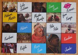 Kisses From Kenya - Lala Salama - Hakuna Matata - Kwaheni - Jambo ... Multivue - Multivues - Multi Vues - (n°18403) - Kenia