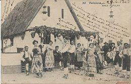 X118177 COMUNIDAD VALENCIANA VALENCIA BAILE POPULAR PRECURSOR ANTES DE 1904 - Valencia