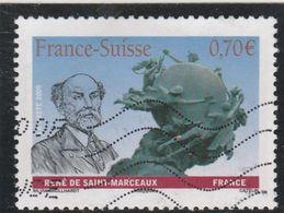 FRANCE 2009 FRANCE SUISSE YT 4393 OBLITERE - Frankreich