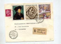 Lettre Recommandée Cachet Saint Malo  Sur Le Bon Deurat Amiens Cheffer - Poststempel (Briefe)