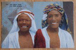 Les Deux Amis - Los Dos Amigos - Deux Jeunes Tunisiens - ED. Lehnert & Landrock - Tunis - (n°18405) - Tunesië