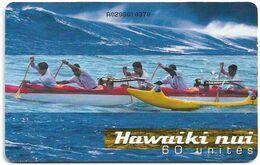 French Polynesia - OPT - Hawaiki Nui, Gem1A Symmetr. Black, 10.2002, 60Units, 20.000ex, Used - Polinesia Francese
