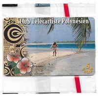 French Polynesia - OPT - Club Télécartiste - Gem1B Not Symm. White/Gold, 12.1998, 5Units, 2.500ex, NSB - Polinesia Francese