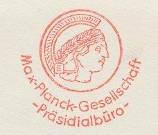 Meter Cut Germany 1965 Max Planck - Physicist - Nobel Prize Laureates