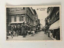 Carte Postale Ancienne (1957) Blankenberghe Rue Longue - Langestraat - Blankenberge