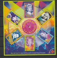 FRANCE BLOC ET FEUILLET CROIX ROUGE 2001 YT N° BF 37 ** - Bloc De Notas & Hojas