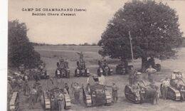 38-Roybon Camp De Chambarand Section De Chars D'Assaut - Roybon